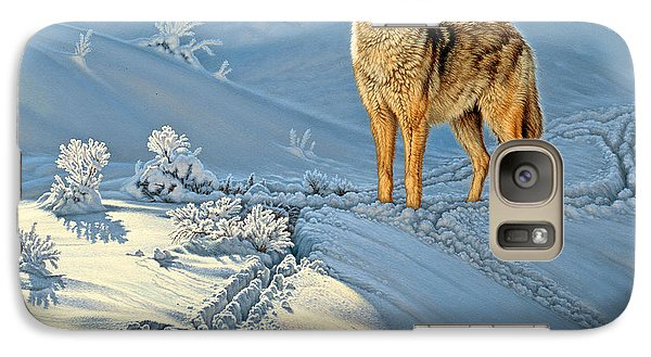 Wildlife Galaxy S7 Case - the Coyote - God's Dog by Paul Krapf