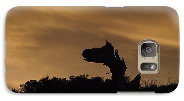 Galaxy Case featuring the photograph The Creature by Priya Ghose