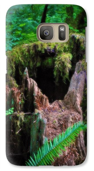 Galaxy Case featuring the photograph The Creature's Home by Amanda Eberly-Kudamik