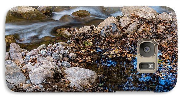 The Creek And The Quiet Pool Galaxy S7 Case by Beverly Parks