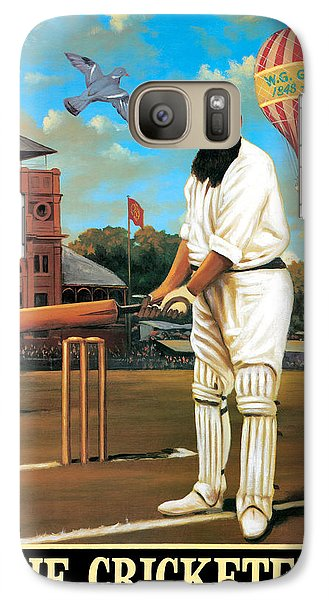 Cricket Galaxy S7 Case - The Cricketers by Peter Green