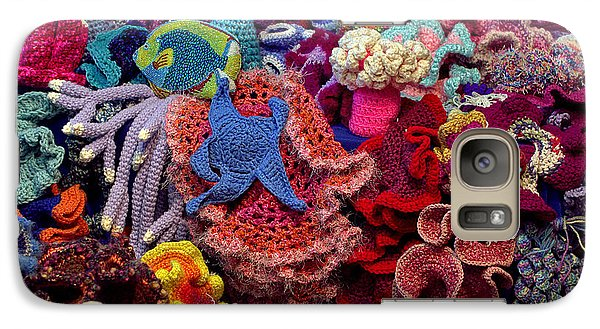 Galaxy Case featuring the photograph The Crochet Coral Reef by Farol Tomson
