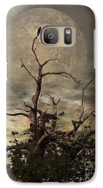 Raven Galaxy S7 Case - The Crow Tree by YoursByShores Isabella Shores