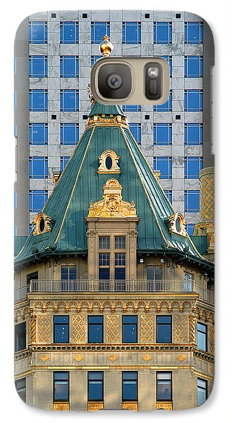 Galaxy Case featuring the photograph The Crown Building by Yue Wang