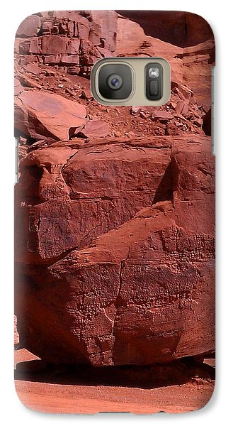Galaxy Case featuring the photograph The Cube by Fortunate Findings Shirley Dickerson