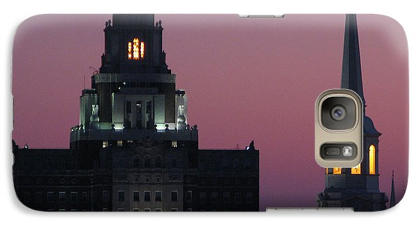 Galaxy Case featuring the photograph The Customs Building And Christ Church by Christopher Woods