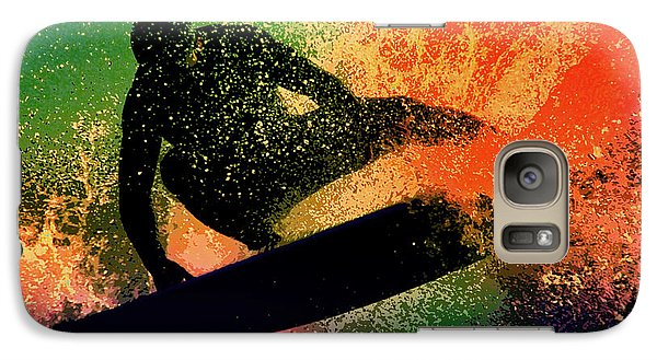 Galaxy Case featuring the photograph The Cutback by Michael Pickett