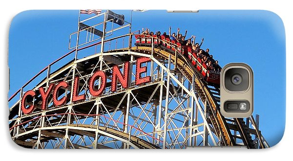 Galaxy Case featuring the photograph The Cyclone by Ed Weidman