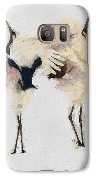 Galaxy Case featuring the painting The Dance by Georgi Dimitrov