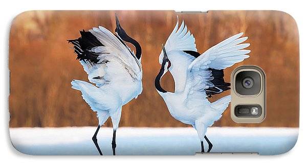 The Dance Of Love Galaxy S7 Case by C. Mei