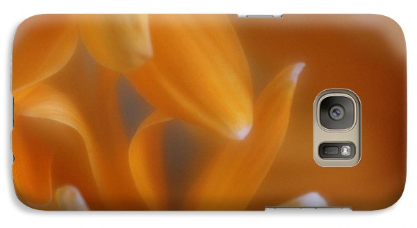 Galaxy Case featuring the photograph The Dance Of The Petals by Mary Lou Chmura
