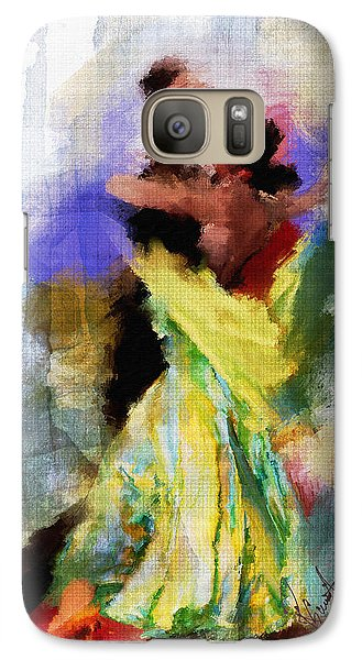 Galaxy Case featuring the painting The Dance by Robert Smith