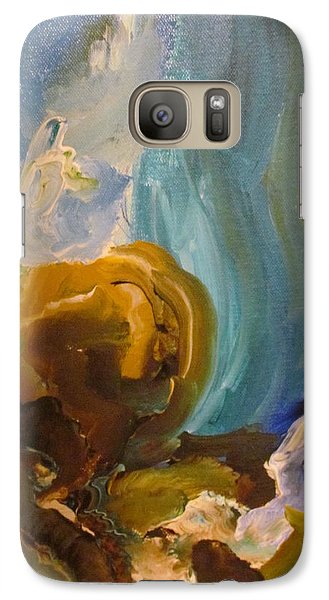 Galaxy Case featuring the painting The Dance by Shea Holliman