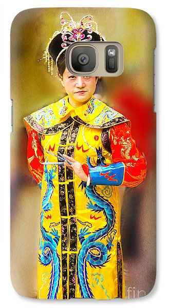 Galaxy Case featuring the photograph The Dancer  by MaryJane Armstrong