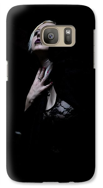 Galaxy Case featuring the photograph The Dark Witch by Mez