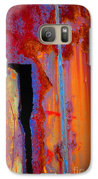 Galaxy Case featuring the photograph The Darkside by Christiane Hellner-OBrien