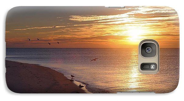 Galaxy Case featuring the photograph The Dawn's Early Light by Renee Hardison