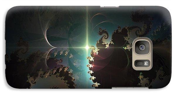 Galaxy Case featuring the digital art The Depths by Arlene Sundby
