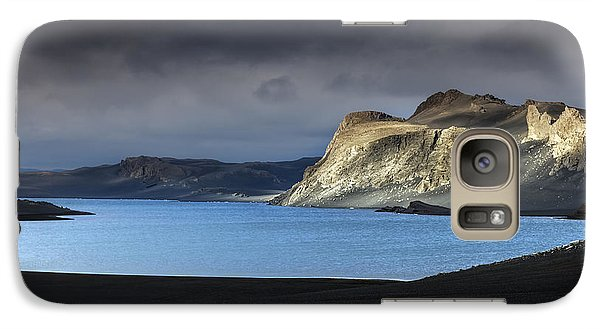 Galaxy Case featuring the photograph The Desert by Gunnar Orn Arnason