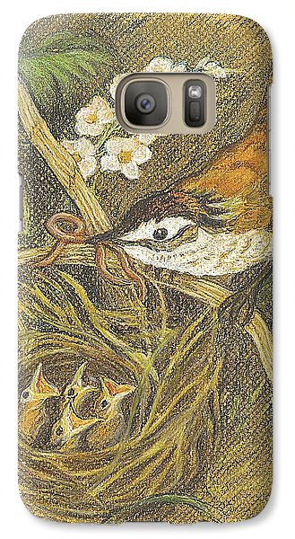 Galaxy Case featuring the drawing The Dinner Bill by Carol Wisniewski