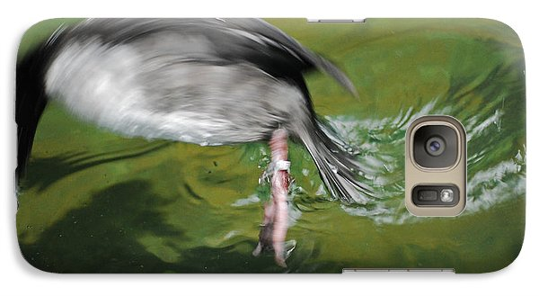 Galaxy Case featuring the photograph The Dive by Maggy Marsh