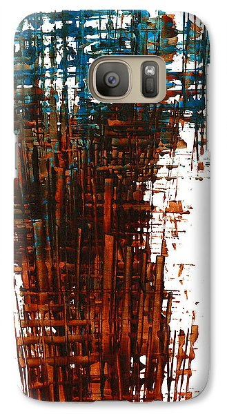 Galaxy Case featuring the painting The Divine In Us 265.111011 by Kris Haas