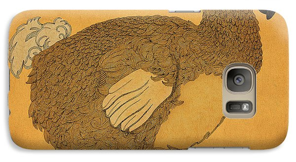 Galaxy Case featuring the drawing The Dodo by Meg Shearer