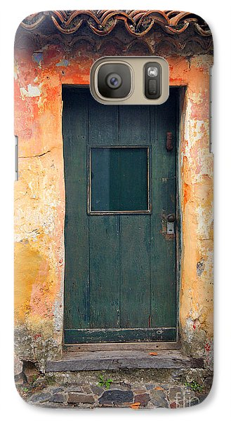 Galaxy Case featuring the photograph The Door by Bernardo Galmarini