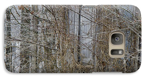 Galaxy Case featuring the photograph The Door To The Past by Wilma  Birdwell