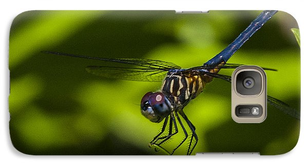 Galaxy Case featuring the photograph The Dragon Fly by Terry Cosgrave