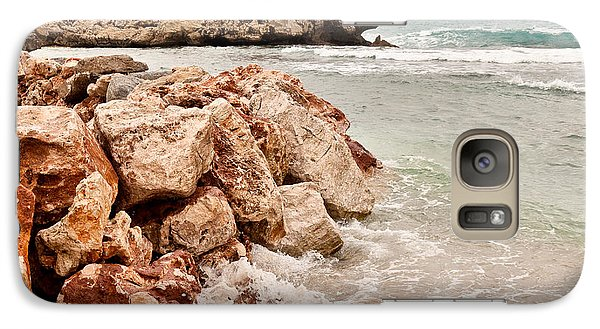 Galaxy Case featuring the photograph The Dragon Of Labadee by Mitchell R Grosky