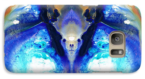 The Dragon - Visionary Art By Sharon Cummings Galaxy S7 Case by Sharon Cummings