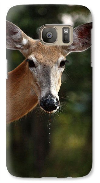 Galaxy Case featuring the photograph The Drip by Rita Kay Adams