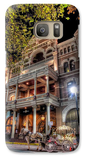Galaxy Case featuring the photograph The Driskill Hotel by Tim Stanley