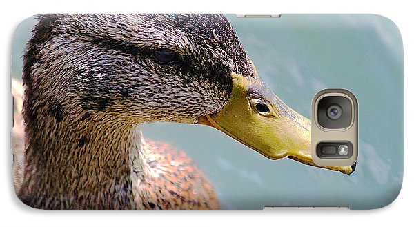 Galaxy Case featuring the photograph The Duck by Milena Ilieva