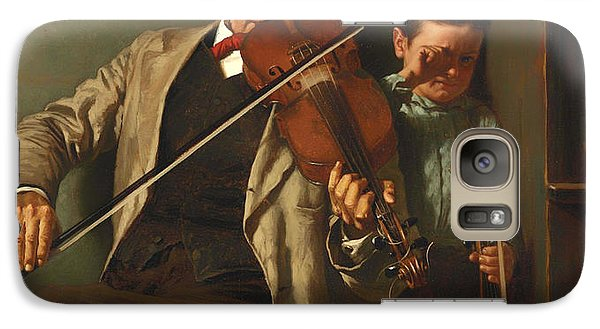 Violin Galaxy S7 Case - The Duet by Mountain Dreams