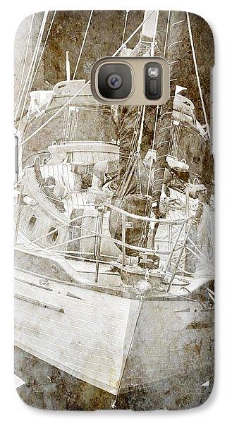 Galaxy Case featuring the digital art The Dutchman by Davina Washington