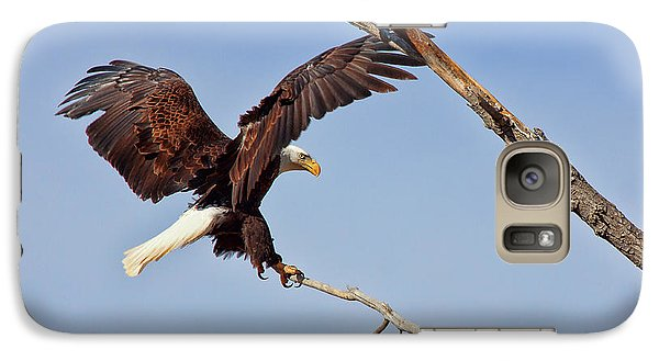 Galaxy Case featuring the photograph The Eagle Eye by Jim Garrison