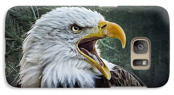 Galaxy Case featuring the photograph The Eagle's Cry by Brian Tarr