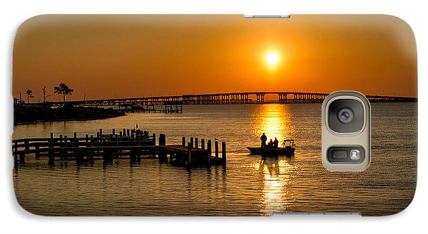 Galaxy Case featuring the photograph The Early Bird by Tim Stanley