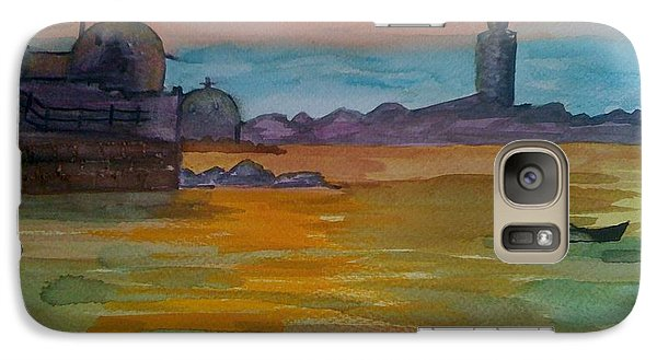 Galaxy Case featuring the painting The East by Judi Goodwin