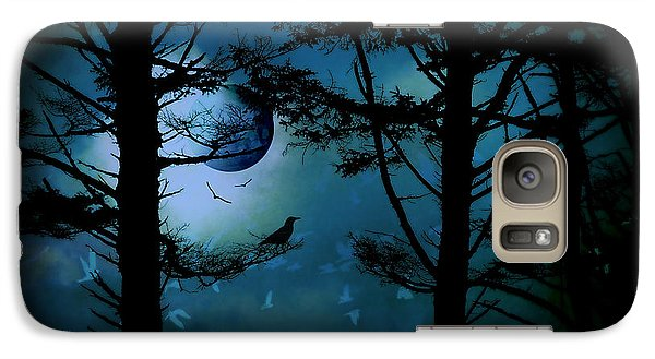 Galaxy Case featuring the photograph The Edge Of Twilight  by Micki Findlay