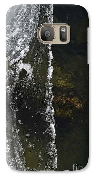 Galaxy Case featuring the photograph The Edge by Randy Bodkins