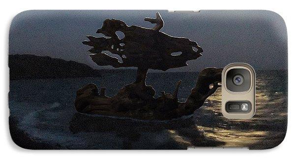 Galaxy Case featuring the photograph The Eftalou Phantom by Eric Kempson