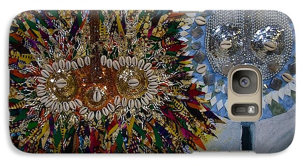 Galaxy Case featuring the tapestry - textile The Egungun by Apanaki Temitayo M