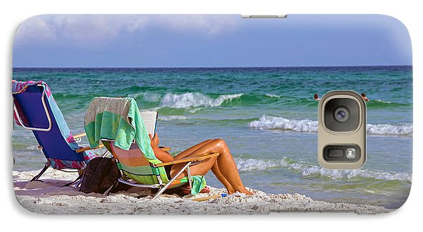 Galaxy Case featuring the photograph The Emerald Coast by Charles Beeler