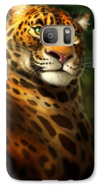 Galaxy Case featuring the digital art The Emerald Kingdom by Aaron Blaise