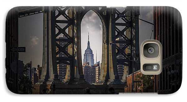 Galaxy Case featuring the photograph The Empire State  by Anthony Fields