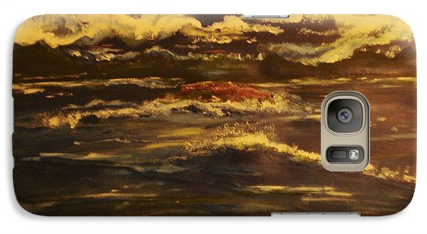 Galaxy Case featuring the painting The Enchanting Sea Collection 2 by Lori  Lovetere