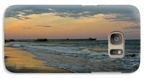 Galaxy Case featuring the photograph The End Of The Day by Eve Spring